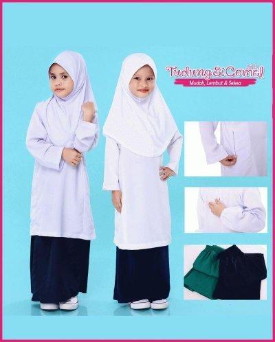 Baju dan Kain Sekolah Kebangsaan TudungSiComel