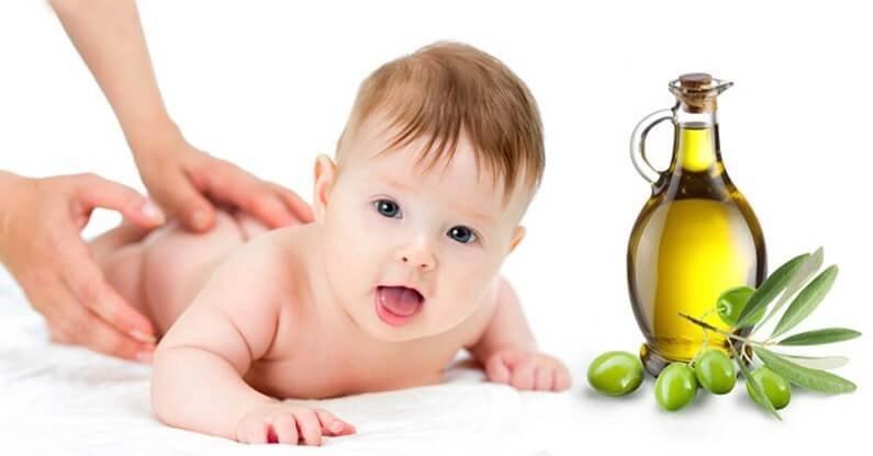 Khasiat Minyak Zaitun Bayi