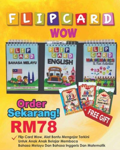 Flip Card Wow